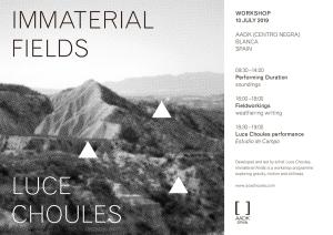 LUCE CHOULES workshop 2019 Blanca