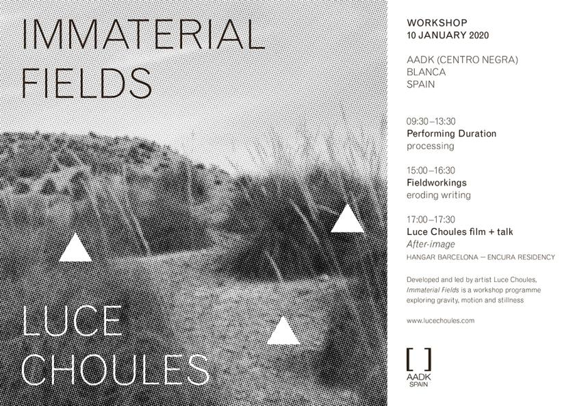 LUCE CHOULES workshop 2020 Blanca (January)